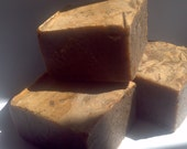 Hazelnut Mocha Soap - With exfoliation from fresh coffee grounds
