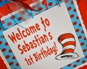 Dr. Seuss Inspired Door Sign