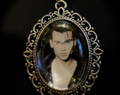 Cry Baby Johnny Depp necklace