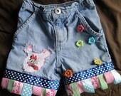 Minnie Mouse Denim Shorts 24m