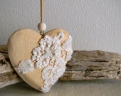 Elegant Heart as collectible ornament - Shabby chic - Home & Living - Romantic home ornaments - Unique gifts - Weddings