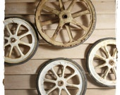 Old Metal Wheels - 4