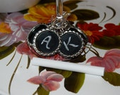 Chalkboard wine charms- Perfect Hostess Gift