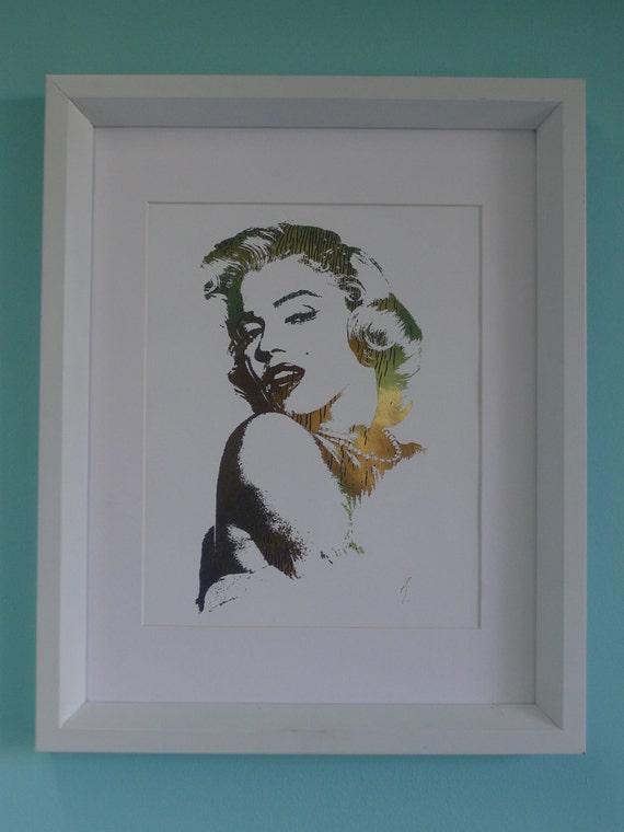 Mariyln Monroe 24K Gold