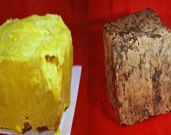 1lb Black Soap & 1lb Raw Shea Butter