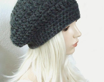 Tutorial Soft  Slouchy Beanie Pattern E-book
