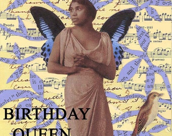 Marian Anderson | African American Card | Blank Birthday Card | Vintage style