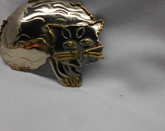 Brooch: CAT  Contemporary Kitty Pin