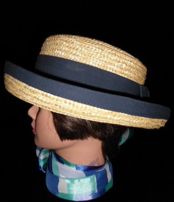 STRAW HAT Blue Ribbon