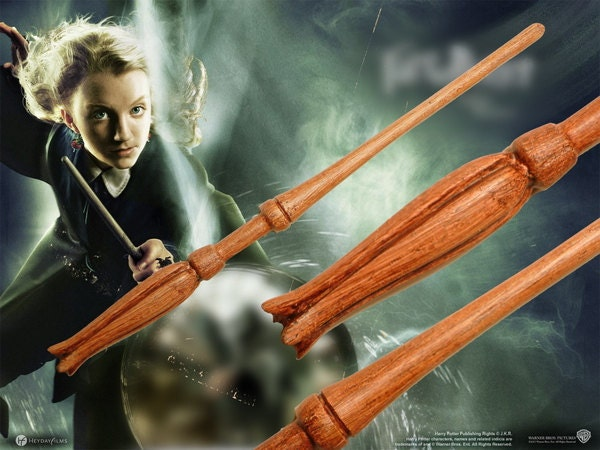Luna lovegood magic wand superior harry potter for Harry potter elder wand replica