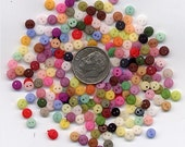 400+ Tiny Doll Buttons, Wholesale, 4mm size