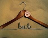 Custom Personalized Bridal Hanger