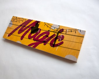 """Magic - Limited Edition Fine Art Photo Transfer on 10""""x30"""" Wood Panel by Patrick Lajoie"""