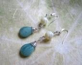 Drops of Sea earrings