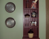Primitive Country Shelf with beadboard- finished