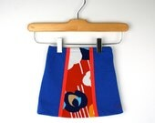 Vintage Skirt in Red White and Blue Size 12 to 18 Months - udaskids