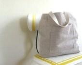 Farmers Market Tote Bag Organic Cotton and Hemp