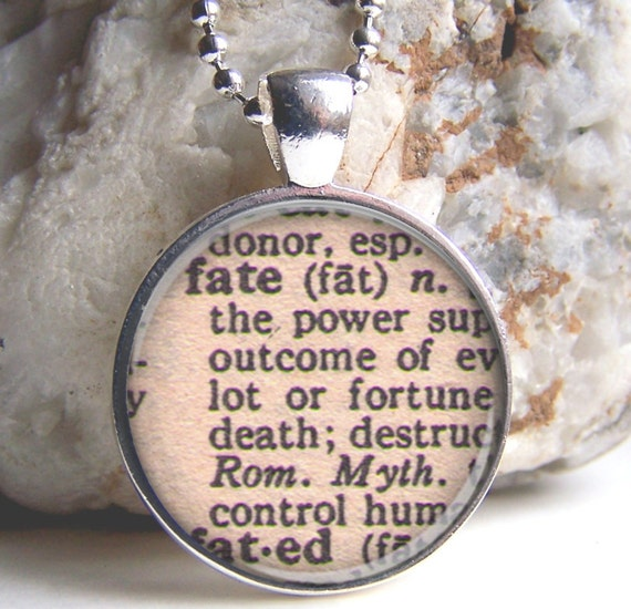 a definition of fate Definition of fate - the development of events outside a person's control, regarded  as predetermined by a supernatural power, three goddesses who presi.