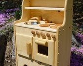 was 250 sale priced at 199 wooden toy play stove .kitchen kids,child's FREE SHIPPING
