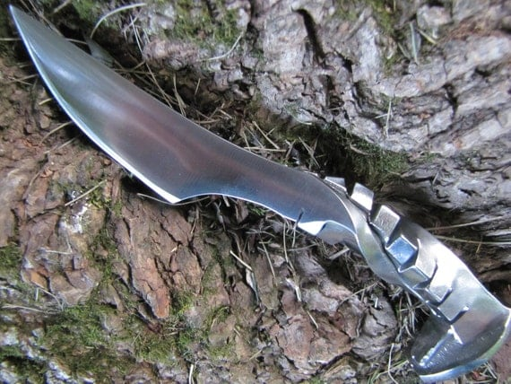 Hammered Out Bits: Railroad Spike Knives - WHY?