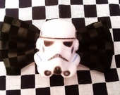 Star Wars Bow Storm Trooper Bow Faux Leather