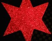 Chicago Style Roller Derby Red Jammer Star Headband