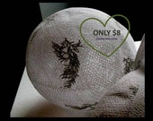 Masa Reserved Listing -  KittenBall  - Small white leaf design