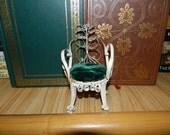 SALE: Decorative Vintage Handmade Miniature Chair