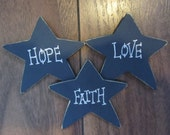 Primitive Star Fridge Magnets - Set Of 3