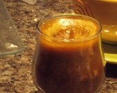 Creme Brulee Juice Glass
