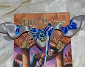 Custom Ravenclaw House Harry Potter Themed Wedding Garter (Perfect for Geek Weddings or Conventions)