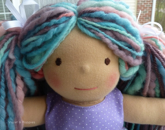 "Waldorf doll Skyler-  is a 10"" Violet & Poppies doll"