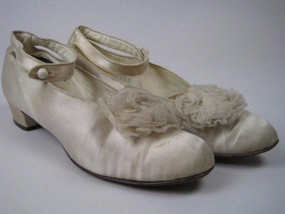 Antique Wedding Shoes Vintage Antique Wedding Shoes