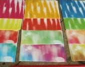 20 Sheets Tie Dyed Origami Paper Suisai Origami for DIY Hippie Designs