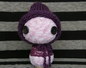 Little Plum Riding Hood Large Doll 9""