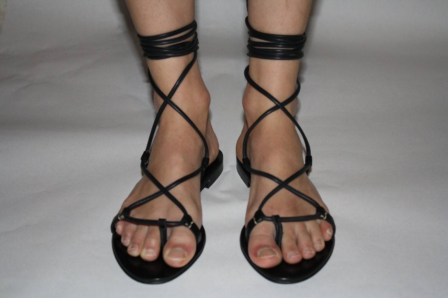 Lace up gladiator sandals - deals on 1001 Blocks