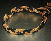 4 braid leather bracelet