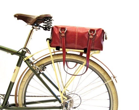 Pretty Bicycle Trunk Bag