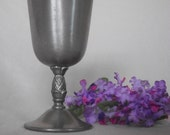 Goblet-Silver-International Pewter- Goblet-Cup-Pewter