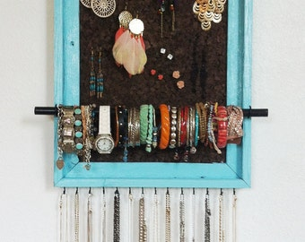 15x19 Custom PAINTED Jewelry Organizer
