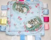 Beatrix Potter taggy blanket