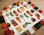 hungry caterpillar taggy comforter