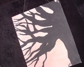 "Shadow Tree,Large(16""x20"") Wall Art"