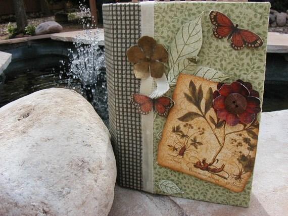 Botanicabella Mini Scrapbook Album