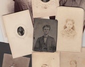 Large Mixed Lot of 41 Old Photos FREE Shipping in US