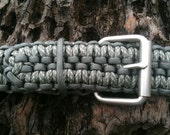 Paracord Belt with Survival Kit