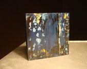Lethe, Mini-Abstract Original Acrylic on Wood by Rachel Dickson