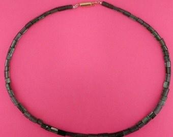 14KT yellow gold 123 carats Green Tourmaline necklace
