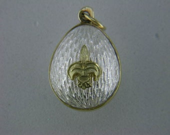 Timeless Faberge' Style Egg Pendant