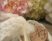 Whimsical Lace Monogrammed Wedding Wands-Set of 50